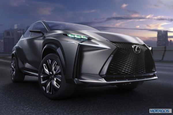 Lexus LF-NX HV crossover concept (6)
