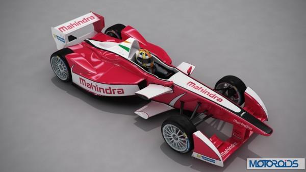 Mahindra FIA Formula E Car official Image (2)