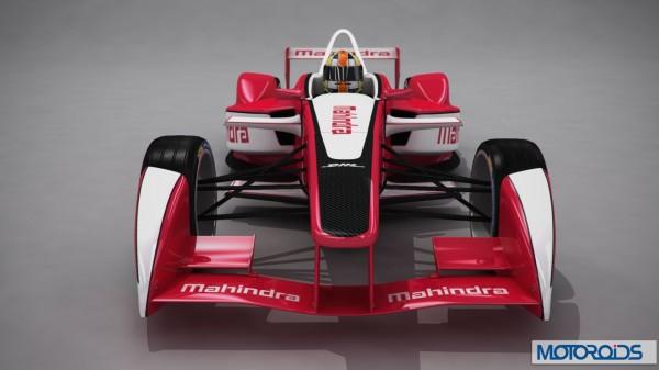 Mahindra FIA Formula E Car official Image