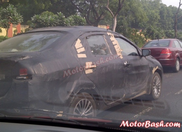YL1 Sedan, upcoming Maruti SX4 replacement, spotted again