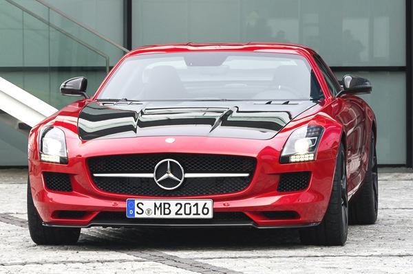 Mercedes Benz SLS AMG Final Edition Pics (2)