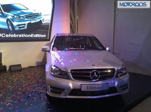 Mercedes C Class Edition C Celebration Edition launch pics (1)