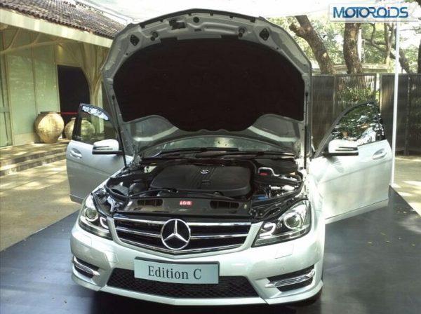 Mercedes C Class Edition C Celebration Edition launch pics (22)