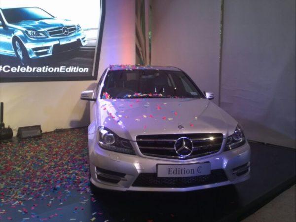 Mercedes C Class celebratory edition
