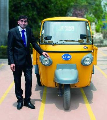 Atul Auto profits up by 23 percent in second quarter of current fiscal