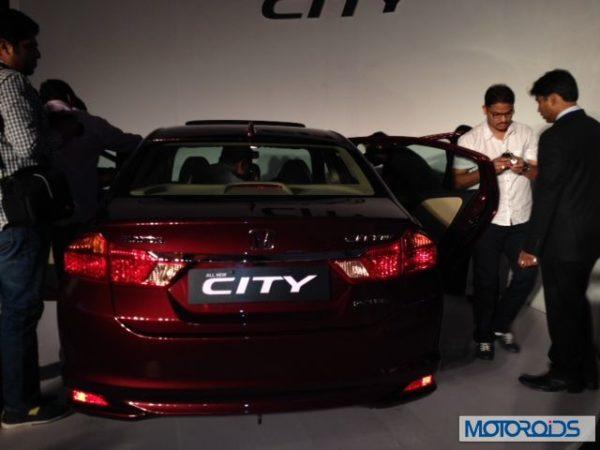 New 2014 Honda City front and rear