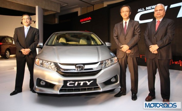 New 2014 Honda City official images india