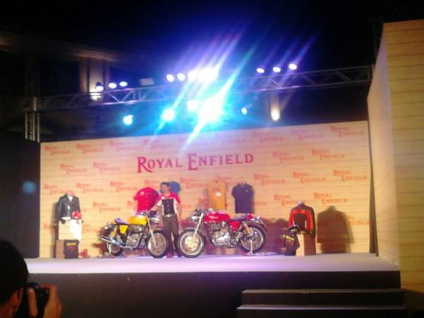 New RE Continental Gt india launch live (5)