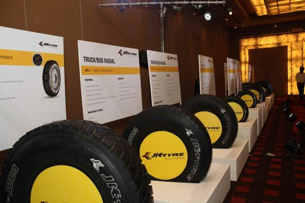 New range launched by JK Tyre