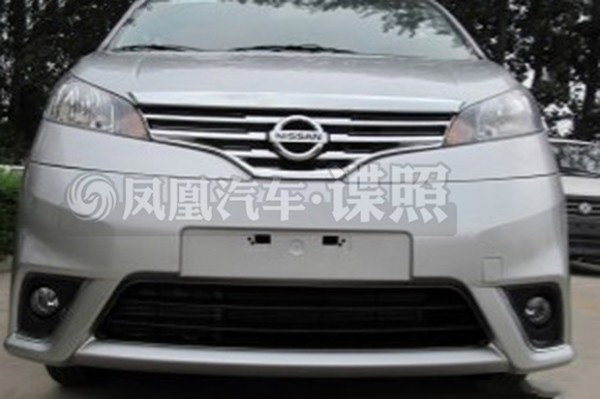 Nissan Evalia facelift test mules spotted in China