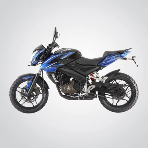 Pulsar 200NS Blue and Black