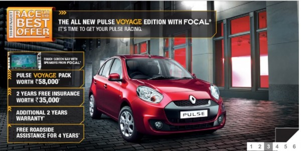 New Renault Pulse Voyage Edition launched in India
