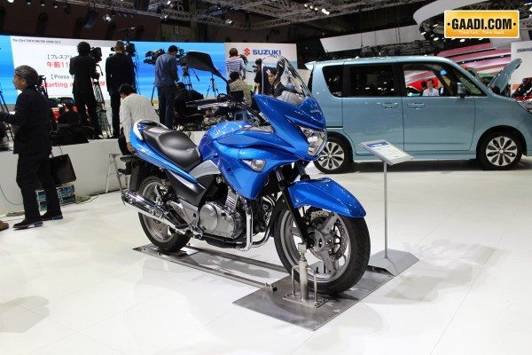 New 2014 Suzuki GSR250S Images, Video and other details