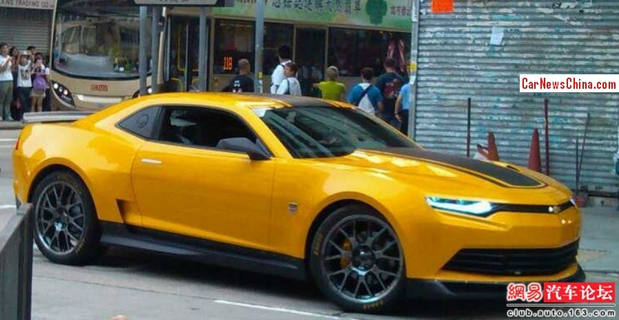 Transformed Bumblebee Spotted On T4 Set In Hongkong