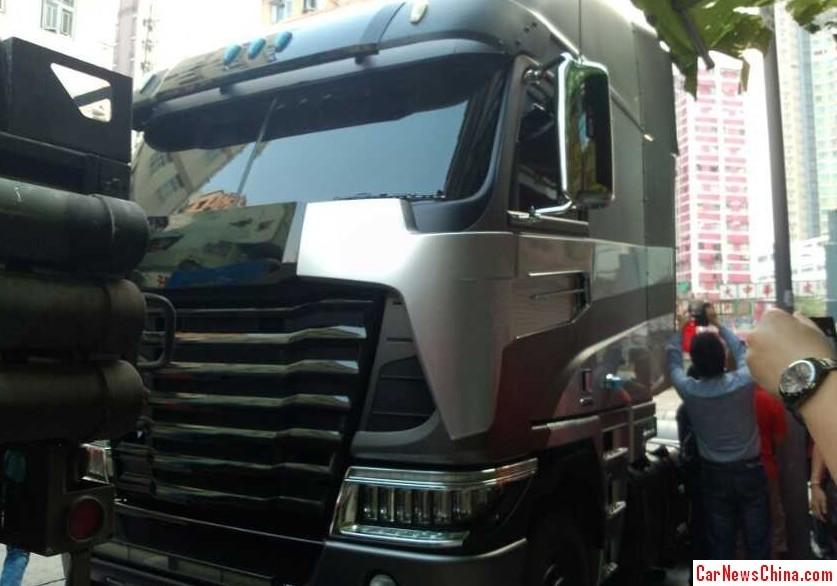 Transfomers 4 Freightliner Argosy