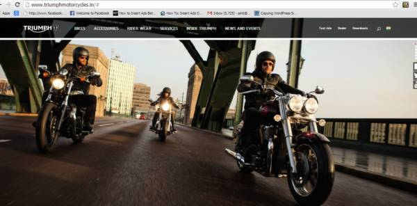 Triumph Motorcycles India official Site