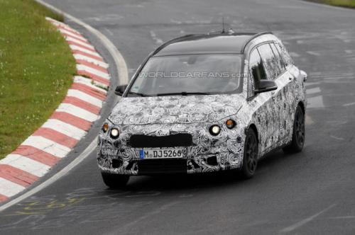Upcoming 2015 BMW 1-Series GT Spied on Nurburgring