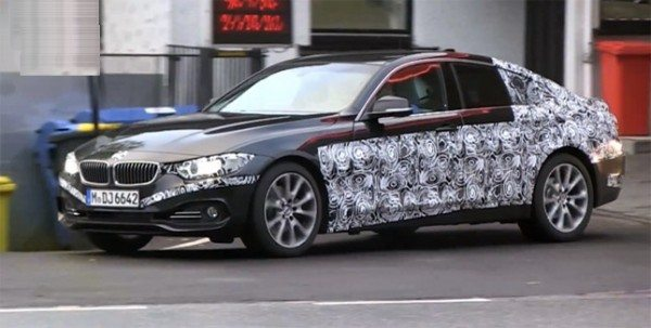 Upcoming BMW 4 Series Gran Coupe spotted testing