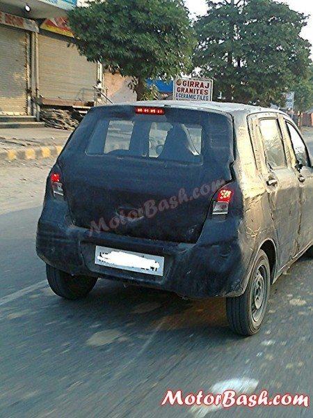 New Maruti AStar (2015 Suzuki Alto) spotted testing again