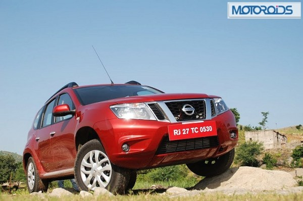 nissan terrano powerful presence twitter facebook