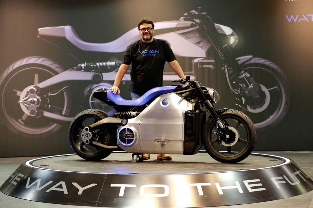 2014 Voxan Wattman Electric Motorcycle