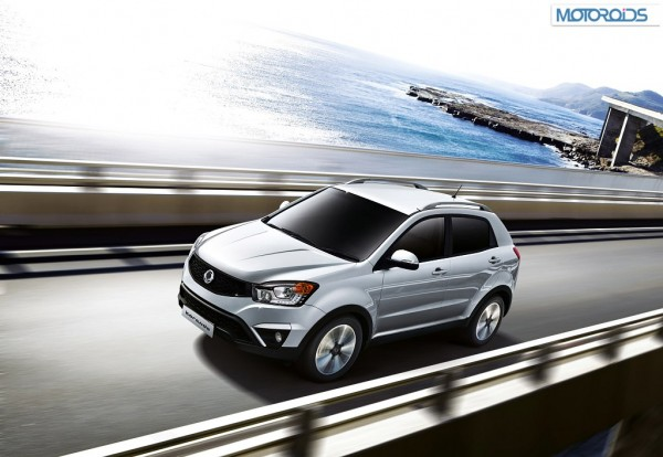 Check out the new 2014 SsangYong Korando facelift in these images
