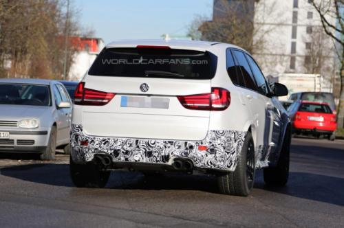 The X5 M is likely to debut at the 2014 Geneva Motor Show.