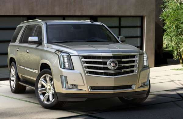 New 2015 Cadillac Escalade variant-wise features list revealed