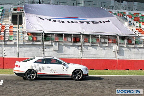 Apollo Vredestein tyre review test at BIC in Audi cars (2)