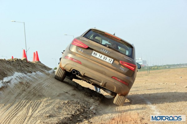 tyre review test at BIC in Audi cars