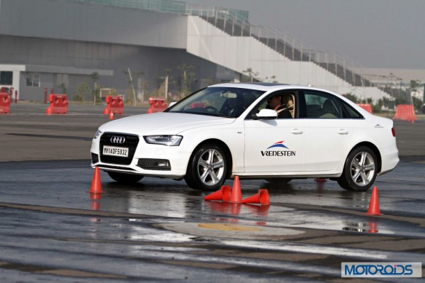 Apollo Vredestein tyre review test at BIC in Audi cars (4)
