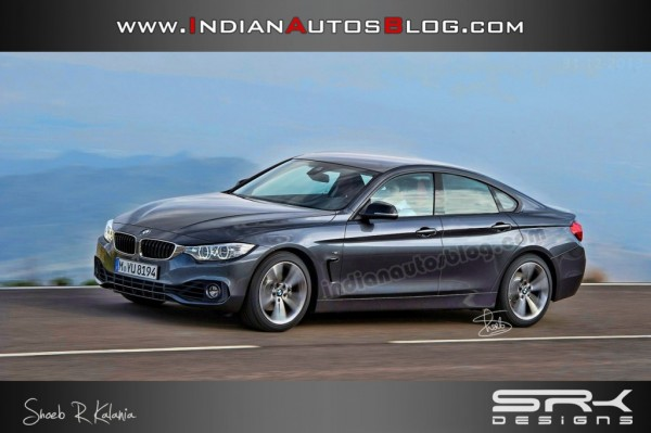 Is this how the upcoming BMW 4 Series Gran Coupe would look like?