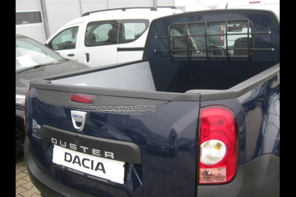 The Duster pickup is based on the pre-facelift model