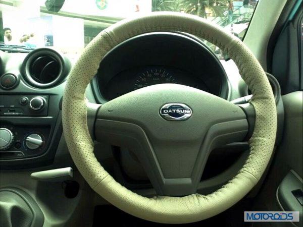 Datsun Go India interior (35)