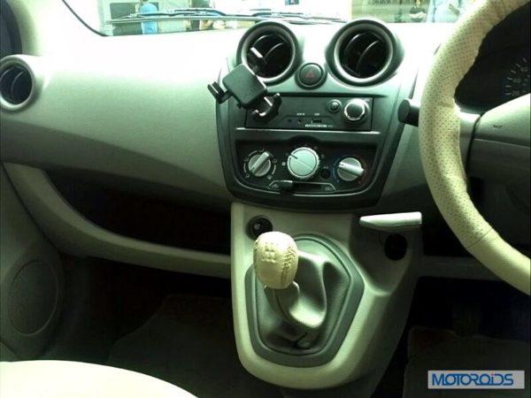 Datsun Go India interior (38)