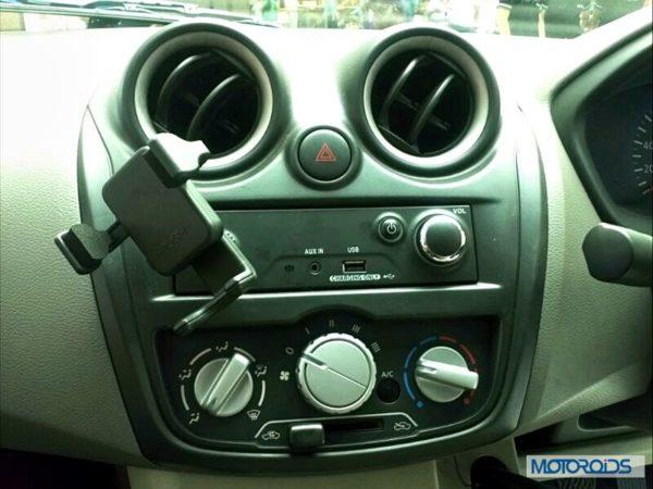 Datsun Go India interior (39)