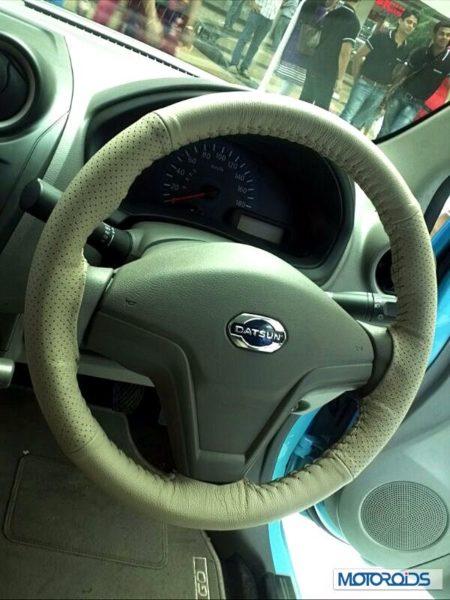 Datsun Go India interior (43)