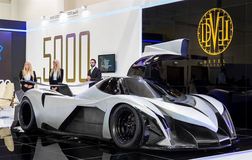 Made In Dubai The 5000 Bhp Devel Sixteen Supercar Motoroids