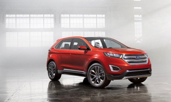 Ford Edge Concept Europe