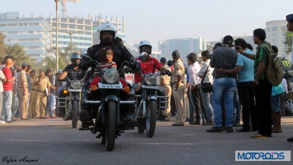Helmet awareness and women safety Rally with Akshay kumar in Mumbai (3)