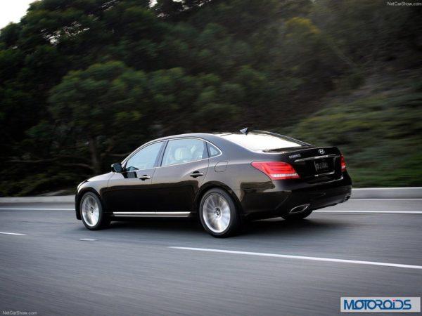 Hyundai Equus sedan India exterior (1)