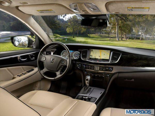 Hyundai Equus sedan India interior