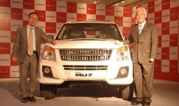 Local Production of Isuzu MU-7 SUV commences