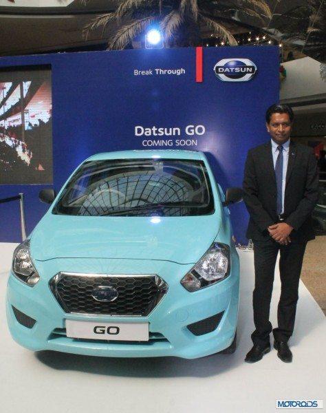 John Kullu, GM Marketing Datsun india with Go