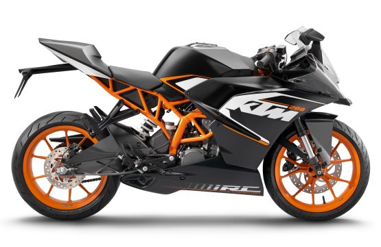 The India bound KTM RC200