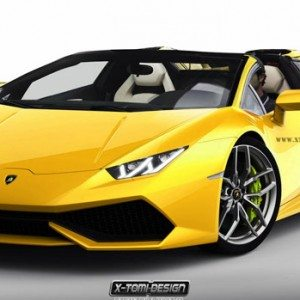 is this how the lamborghini huracan roadster would look. Black Bedroom Furniture Sets. Home Design Ideas