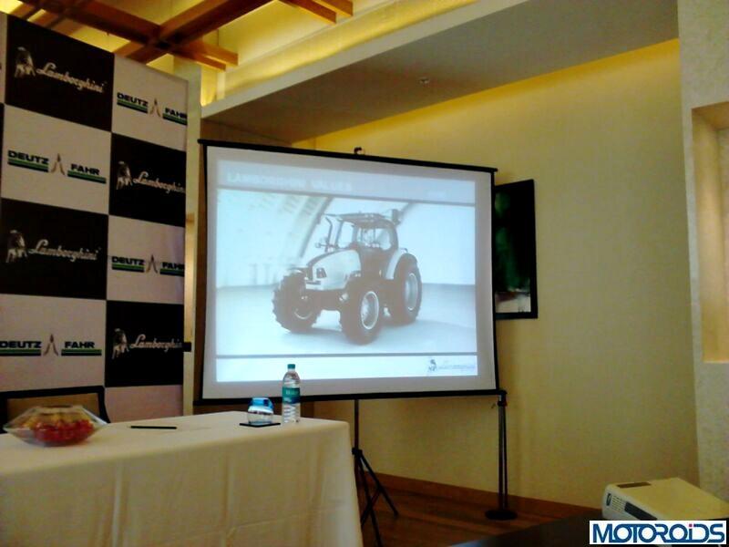 Lamborghini tractors launched in India
