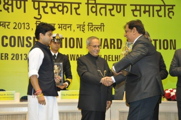 Mahindra Award picture