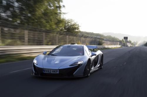 VIDEO- Check out the McLaren P1 lapping the Nurburgring in less than seven mins