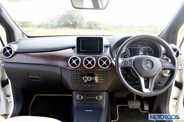 Mercedes B Class B180 CDI Interior (19)